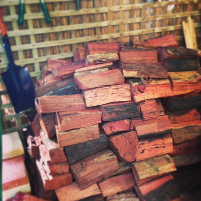 The perfect firewood pile?